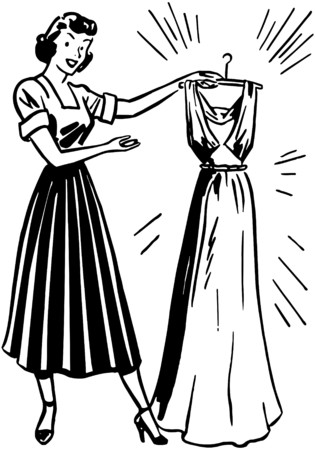 homemakers: Lady With Clean Dress