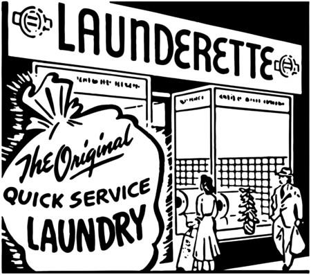 launderette: Launderette