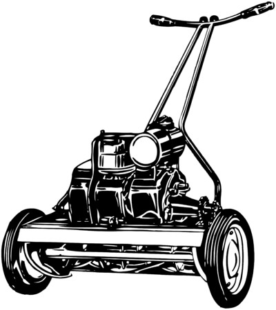 nurseries: Lawn Mower