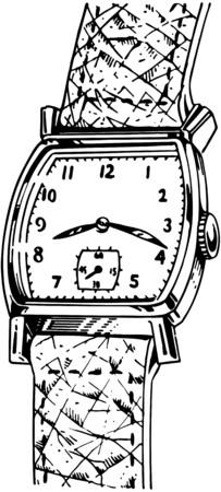 strap: Leather Strap Watch