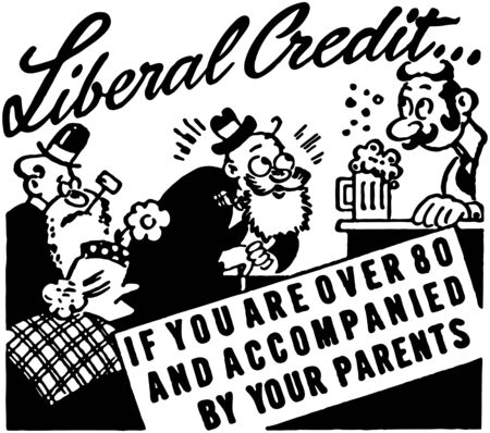 liberal: Liberal Credit Illustration