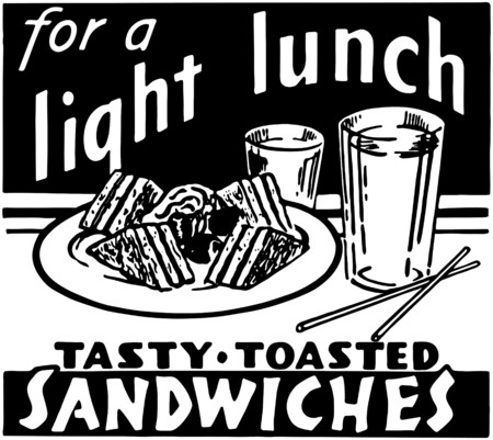 Light Lunch Vector