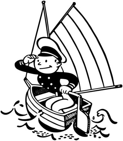 seaman: Little Captain Illustration