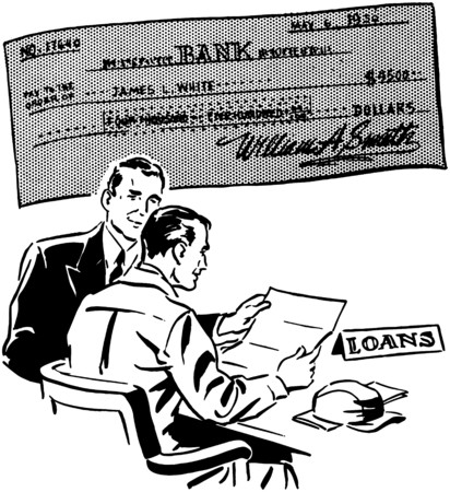 cheques: Loans