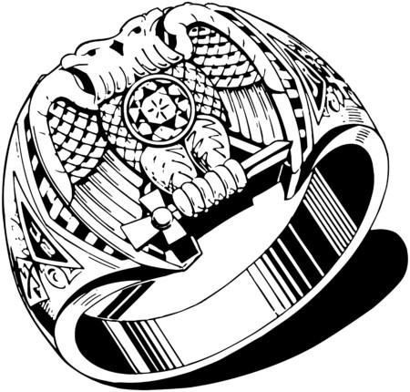 mens: Lodge Ring