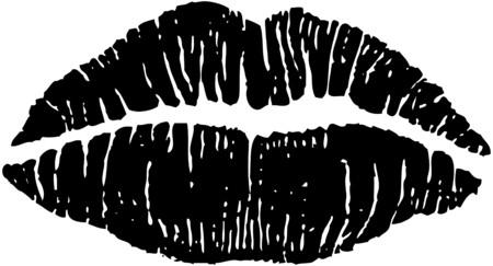 아름다운 입술 일러스트