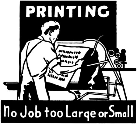 print shop: Printing Illustration