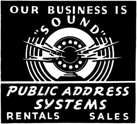 public address: Public Address System