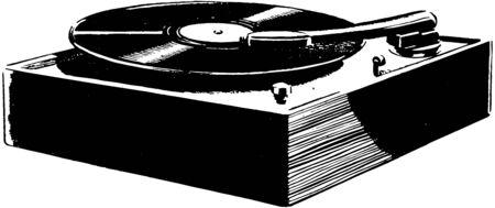 vinyl records: Record Player