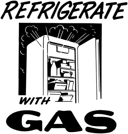 refrigerate: Refrigerate With Gas
