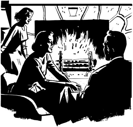 homemakers: Relaxing Around The Fire