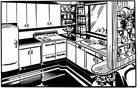 linoleum: Retro Kitchen