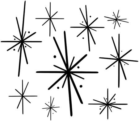 レトロな星 2