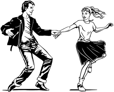 Retro Swing Dancing