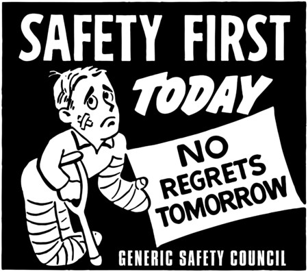 cartoons: Safety First Illustration