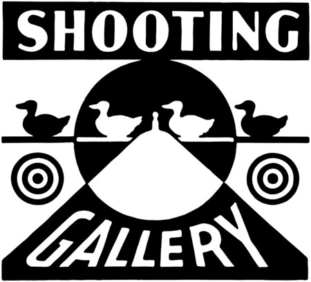 hunters: Shooting Gallery Illustration