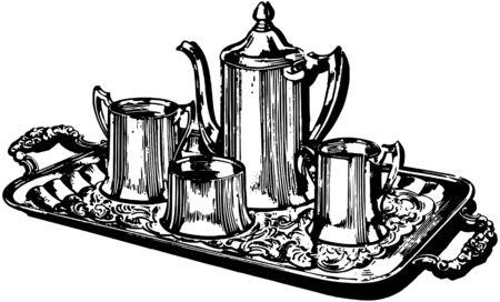 silver service: Silver Coffee Service