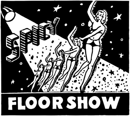 galas: Spicy Floor Show Illustration