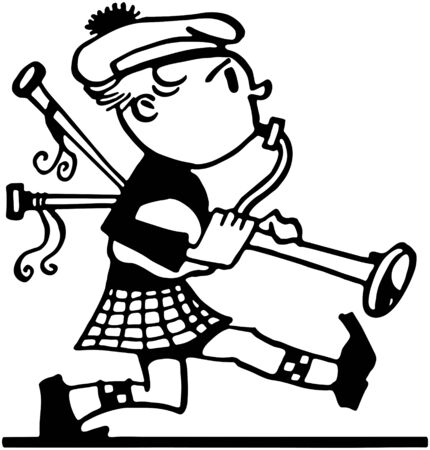 pipers: Marching Bagpiper