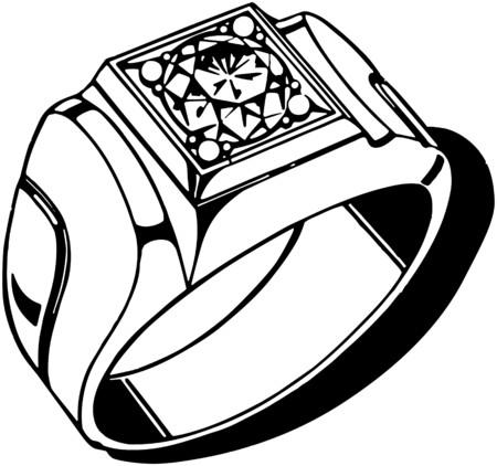 diamond: Mens Diamond Ring
