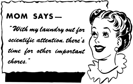 homemakers: Mom Says Illustration