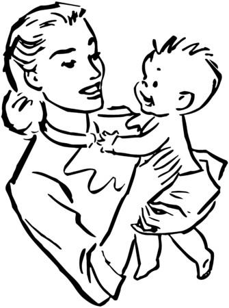 baby moeder: Moeder en baby