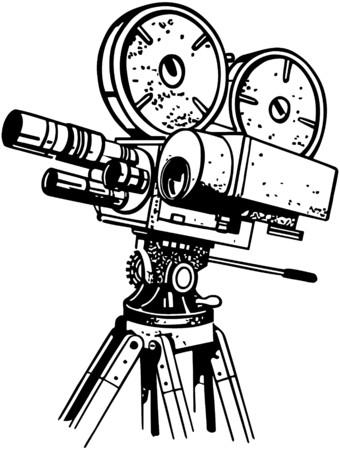 Movie Camera Ilustracja