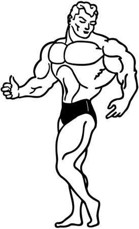 tough guy: Muscle Man