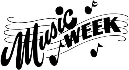 Music Week Stock Illustratie