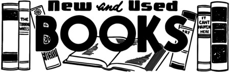 literature: New And Used Books Illustration