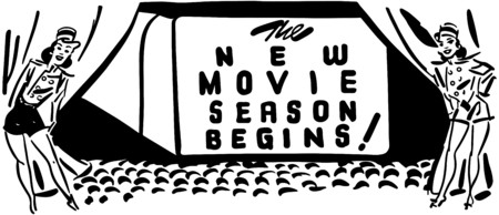 New Movie Season Begins Vector
