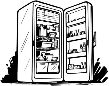 fridge: Open Fridge