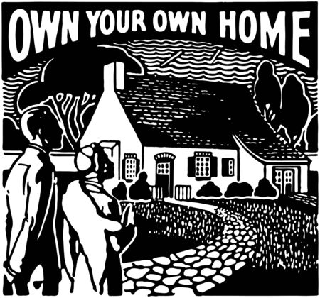 Own Your Own Home Vector