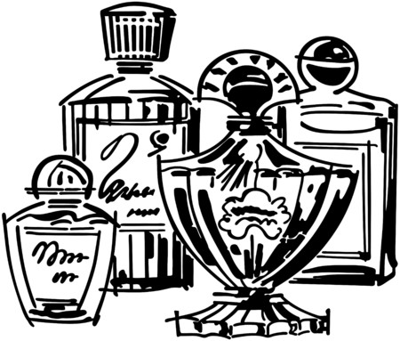 aftershave: Perfume And Cologne Bottles