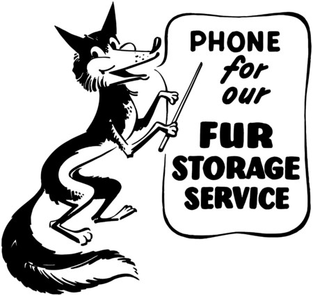 storage: Phone For Our Fur Storage Illustration