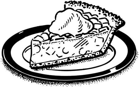 Morceau de tarte Banque d'images - 28343569
