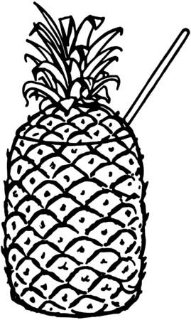 Ananas drinken