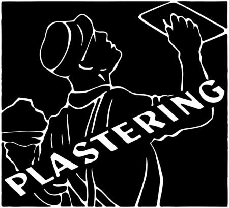 industrious: Plastering