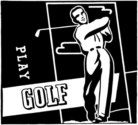 Play Golf Vector