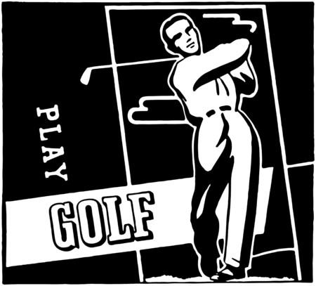 lessons: Play Golf Illustration