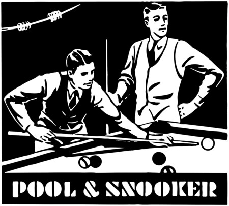 Pool And Snooker Vector