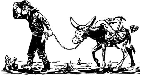 prospector: Prospector Con Burro