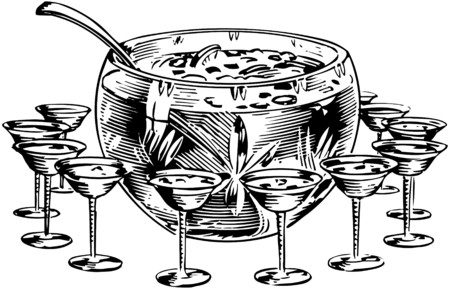 Punch Bowl 1 Vector
