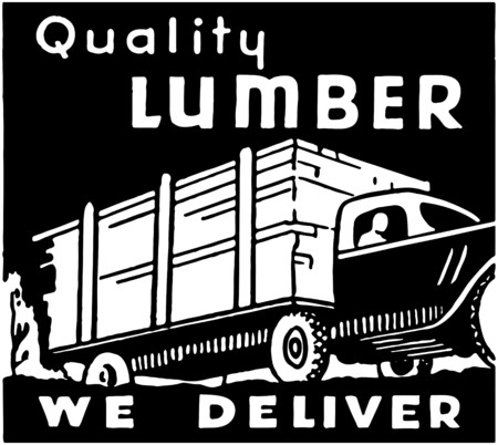 Quality Lumber Vector