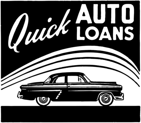 loaning: Quick Auto Loans Illustration
