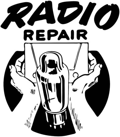 headings: Radio Repair 3 Illustration