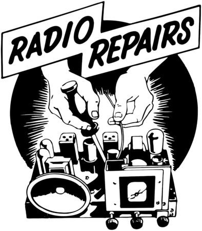 reparaturen: Radio-Reparaturen Illustration