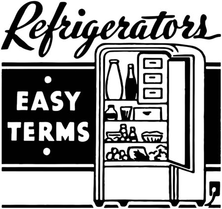 cold storage: Refrigerators
