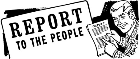 headings: Report To The People