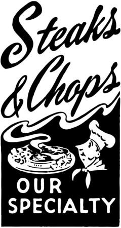 chops: Steaks And Chops
